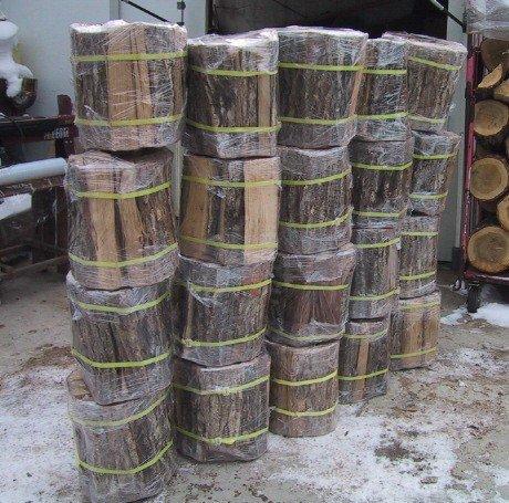 楢薪 大割 長さ40~36cm20束分(20個口総重量320kg超)自然乾燥品送料安