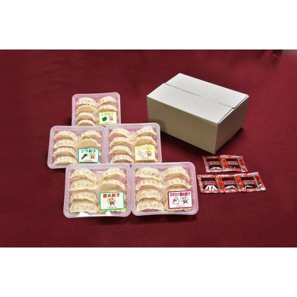 【送料無料】 健太餃子 味わい5色セット [ 栃木 ギフト 贈り物 ]_画像