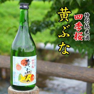 四季桜 特別純米 黄ぶな 720ml(4合瓶) - 宇都宮酒造_画像