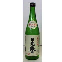 純米吟醸 日光誉 1800ml (一升瓶) - 渡邊佐平商店_画像