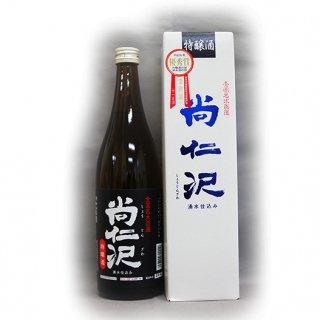 十一正宗 特醸酒 尚仁沢 720ml (4合瓶) - 森戸酒造_画像