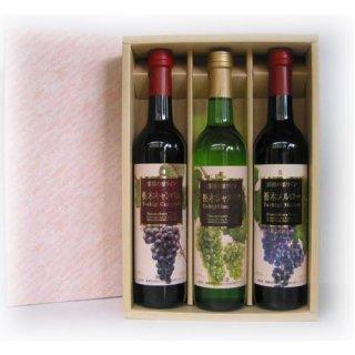 鳳鸞 那須の原ワイン3本セット [ お土産 お酒 ギフトセット プレゼント 贈り物 ]_画像