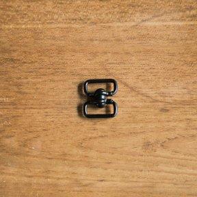 BGB スナップフック No.SW55 (全長35mm 22g) 半光沢ブラック