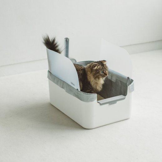 Modkat Litter Tray White