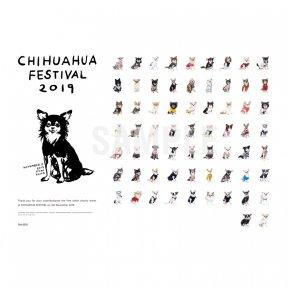 チワワフェスティバル2019 撮影会参加者 集合ポスター