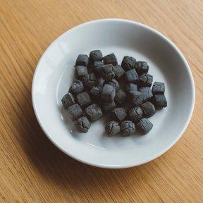 竹炭 クッキー ダイス 60g
