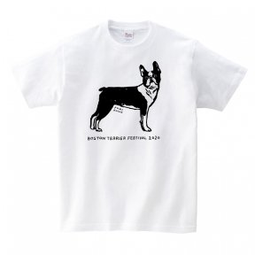 ボストンテリアフェスティバル 2020 オリジナルTシャツ