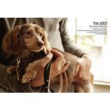【2010A・W ポストカード】ダックスフンドとネップツイード犬具