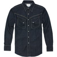 <img class='new_mark_img1' src='https://img.shop-pro.jp/img/new/icons24.gif' style='border:none;display:inline;margin:0px;padding:0px;width:auto;' />【TONY TAIZSUN】INDY DENIM WESTERN SHIRT ONE WASH ウエスタンデニムシャツ トニータイズサン