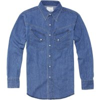 <img class='new_mark_img1' src='//img.shop-pro.jp/img/new/icons24.gif' style='border:none;display:inline;margin:0px;padding:0px;width:auto;' />【TONY TAIZSUN】INDY DENIM WESTERN SHIRT LIGHT ウエスタンデニムシャツ トニータイズサン