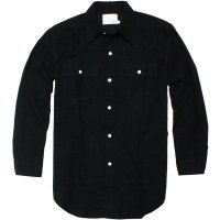 <img class='new_mark_img1' src='//img.shop-pro.jp/img/new/icons24.gif' style='border:none;display:inline;margin:0px;padding:0px;width:auto;' />【TONY TAIZSUN】SAND FLANNEL SHIRT BLACK フランネルシャツ トニータイズサン