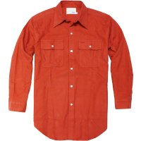 <img class='new_mark_img1' src='//img.shop-pro.jp/img/new/icons24.gif' style='border:none;display:inline;margin:0px;padding:0px;width:auto;' />【TONY TAIZSUN】SAND FLANNEL SHIRT ORANGE フランネルシャツ トニータイズサン