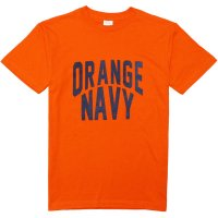 <img class='new_mark_img1' src='https://img.shop-pro.jp/img/new/icons14.gif' style='border:none;display:inline;margin:0px;padding:0px;width:auto;' />【GRAVY'S】ORANGE NAVY CREW NECK TEE ORANGE Tシャツ