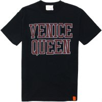 【TONY TAIZSUN】VENICE QUEEN BOX FIT TEE BLACK Tシャツ トニータイズサン