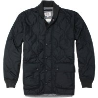 <img class='new_mark_img1' src='https://img.shop-pro.jp/img/new/icons24.gif' style='border:none;display:inline;margin:0px;padding:0px;width:auto;' />【KIFFE】QUILT ARMY JACKET BLACK キルティングジャケット キッフェ