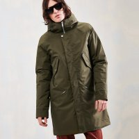 <img class='new_mark_img1' src='https://img.shop-pro.jp/img/new/icons24.gif' style='border:none;display:inline;margin:0px;padding:0px;width:auto;' />【ELVINE】CLARK WINTER JACKET LEAF GREEN エルヴァイン コンフォマックスダウンジャケット
