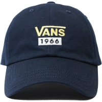 <img class='new_mark_img1' src='https://img.shop-pro.jp/img/new/icons14.gif' style='border:none;display:inline;margin:0px;padding:0px;width:auto;' />【VANS】VANS 1966 LOW CAP NAVY トラッカーキャップ バンズ