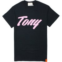 <img class='new_mark_img1' src='https://img.shop-pro.jp/img/new/icons14.gif' style='border:none;display:inline;margin:0px;padding:0px;width:auto;' />【TONY TAIZSUN】LOGO TEE BLACK Tシャツ トニータイズサン
