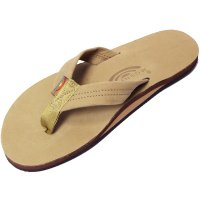<img class='new_mark_img1' src='https://img.shop-pro.jp/img/new/icons24.gif' style='border:none;display:inline;margin:0px;padding:0px;width:auto;' />【RAINBOW SANDALS】SINGLE LAYER PREMIER LEATHER WITH ARCH SUPPORT SIERRA BROWN レザーサンダル レインボーサンダル