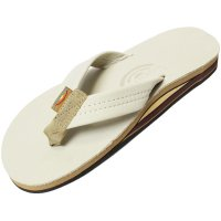 <img class='new_mark_img1' src='https://img.shop-pro.jp/img/new/icons14.gif' style='border:none;display:inline;margin:0px;padding:0px;width:auto;' />【RAINBOW SANDALS】DOUBLE LAYER PREMIER LEATHER WITH ARCH SUPPORT SAND レザーサンダル レインボーサンダル