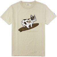 <img class='new_mark_img1' src='https://img.shop-pro.jp/img/new/icons14.gif' style='border:none;display:inline;margin:0px;padding:0px;width:auto;' />【TES】TES BUHI-TURN BEIGE Tシャツ The Endless Summer/エンドレスサマー