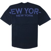 <img class='new_mark_img1' src='https://img.shop-pro.jp/img/new/icons14.gif' style='border:none;display:inline;margin:0px;padding:0px;width:auto;' />【SPIRIT JERSEY】CLASSIC STYLE SHORT SLEEVE NEW YORK D.INDIGO ドルマンスリーブTシャツ スピリットジャージー