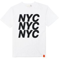 <img class='new_mark_img1' src='https://img.shop-pro.jp/img/new/icons14.gif' style='border:none;display:inline;margin:0px;padding:0px;width:auto;' />【TONY TAIZSUN】NYC TEE WHITE Tシャツ トニータイズサン