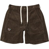 <img class='new_mark_img1' src='https://img.shop-pro.jp/img/new/icons14.gif' style='border:none;display:inline;margin:0px;padding:0px;width:auto;' />【TES】TES CORDUROY SHORTS BROWN コーデュロイショーツ The Endless Summer/エンドレスサマー