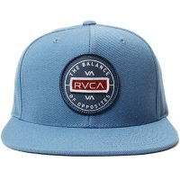 <img class='new_mark_img1' src='https://img.shop-pro.jp/img/new/icons14.gif' style='border:none;display:inline;margin:0px;padding:0px;width:auto;' />【RVCA/ルーカ】RVCA NAVIGATE SNAPBACK LIGHT BLUE スナップバックキャップ