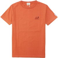 <img class='new_mark_img1' src='https://img.shop-pro.jp/img/new/icons14.gif' style='border:none;display:inline;margin:0px;padding:0px;width:auto;' />【TES】TES HUNTINGTON TEE ORANGE Tシャツ The Endless Summer/エンドレスサマー