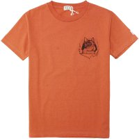 <img class='new_mark_img1' src='https://img.shop-pro.jp/img/new/icons14.gif' style='border:none;display:inline;margin:0px;padding:0px;width:auto;' />【TES】TES RIPPER BUHI TEE ORANGE Tシャツ The Endless Summer/エンドレスサマー