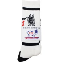 <img class='new_mark_img1' src='https://img.shop-pro.jp/img/new/icons49.gif' style='border:none;display:inline;margin:0px;padding:0px;width:auto;' />【TES】TES BUHI SOCKS BLACK ソックス 靴下 The Endless Summer/エンドレスサマー