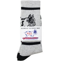 <img class='new_mark_img1' src='https://img.shop-pro.jp/img/new/icons14.gif' style='border:none;display:inline;margin:0px;padding:0px;width:auto;' />【TES】TES BUHI SOCKS GREY ソックス 靴下 The Endless Summer/エンドレスサマー