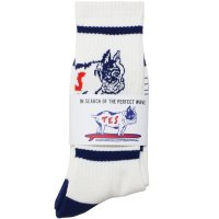 <img class='new_mark_img1' src='https://img.shop-pro.jp/img/new/icons49.gif' style='border:none;display:inline;margin:0px;padding:0px;width:auto;' />【TES】TES BUHI SOCKS NAVY ソックス 靴下 The Endless Summer/エンドレスサマー