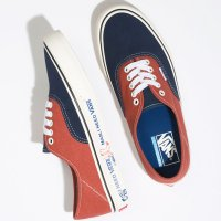 <img class='new_mark_img1' src='https://img.shop-pro.jp/img/new/icons14.gif' style='border:none;display:inline;margin:0px;padding:0px;width:auto;' />【VANS】VANS SURF AUTHENTIC SF TWO TONE SALT WASH DRESS BLUES/BURNT BRICK オーセンティック バンズ