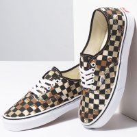 <img class='new_mark_img1' src='https://img.shop-pro.jp/img/new/icons14.gif' style='border:none;display:inline;margin:0px;padding:0px;width:auto;' />【VANS】AUTHENTIC CHECKERBOARD CAMO DESERT/TRUE WHITE スリッポン バンズ