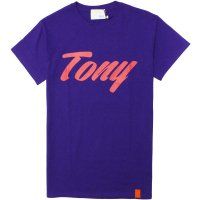 <img class='new_mark_img1' src='https://img.shop-pro.jp/img/new/icons14.gif' style='border:none;display:inline;margin:0px;padding:0px;width:auto;' />【TONY TAIZSUN】TONY LOGO TEE PURPLE Tシャツ トニータイズサン