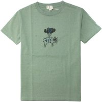 【TES】BALLOON BUHI TEE GREEN GREY Tシャツ The Endless Summer/エンドレスサマー
