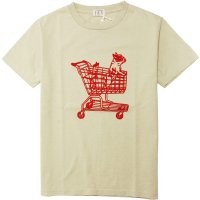 <img class='new_mark_img1' src='https://img.shop-pro.jp/img/new/icons14.gif' style='border:none;display:inline;margin:0px;padding:0px;width:auto;' />【TES】BUHI BASKET CART BEIGE Tシャツ The Endless Summer/エンドレスサマー