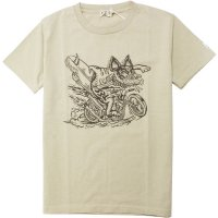 <img class='new_mark_img1' src='https://img.shop-pro.jp/img/new/icons14.gif' style='border:none;display:inline;margin:0px;padding:0px;width:auto;' />【TES】BLOW BUHI TEE BEIGE Tシャツ The Endless Summer/エンドレスサマー