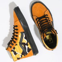 <img class='new_mark_img1' src='https://img.shop-pro.jp/img/new/icons14.gif' style='border:none;display:inline;margin:0px;padding:0px;width:auto;' />【VANS】SK8-HI CORDURA AMBERGLOW/CAMO/BLACK スケハイ バンズ