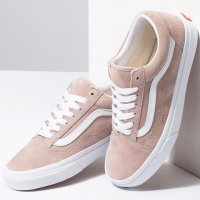 <img class='new_mark_img1' src='https://img.shop-pro.jp/img/new/icons49.gif' style='border:none;display:inline;margin:0px;padding:0px;width:auto;' />【VANS】OLD SKOOL PIG SUEDE SHADOW GRAY/TRUE WHITE オールドスクール バンズ