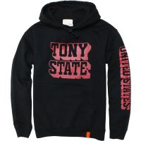 <img class='new_mark_img1' src='https://img.shop-pro.jp/img/new/icons24.gif' style='border:none;display:inline;margin:0px;padding:0px;width:auto;' />【TONY TAIZSUN】TONY STATE HOODIE BLACK プルオーバーパーカー トニータイズサン
