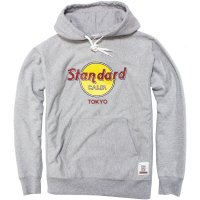【STANDARD CALIFORNIA】SD HEAVYWEIGHT H.R.C LOGO HOOD SWEAT GREY スウェットパーカー スタンダードカリフォルニア