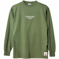<img class='new_mark_img1' src='https://img.shop-pro.jp/img/new/icons24.gif' style='border:none;display:inline;margin:0px;padding:0px;width:auto;' />【STANDARD CALIFORNIA】SD HEAVYWEIGHT LONG SLEEVE T WITH LOGO OLIVE ロンT スタンダードカリフォルニア
