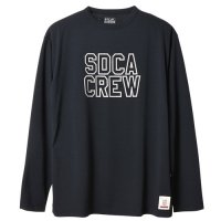 <img class='new_mark_img1' src='https://img.shop-pro.jp/img/new/icons24.gif' style='border:none;display:inline;margin:0px;padding:0px;width:auto;' />【STANDARD CALIFORNIA】SD TECH DRY LOGO LONG SLEEVE T BLACK ロンT スタンダードカリフォルニア