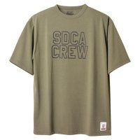 <img class='new_mark_img1' src='https://img.shop-pro.jp/img/new/icons14.gif' style='border:none;display:inline;margin:0px;padding:0px;width:auto;' />【STANDARD CALIFORNIA】SD TECH DRY LOGO T OLIVE Tシャツ スタンダードカリフォルニア