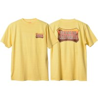 <img class='new_mark_img1' src='https://img.shop-pro.jp/img/new/icons14.gif' style='border:none;display:inline;margin:0px;padding:0px;width:auto;' />【STANDARD CALIFORNIA】SD SUNSET SHIELD LOGO T YELLOW Tシャツ スタンダードカリフォルニア