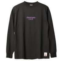 <img class='new_mark_img1' src='https://img.shop-pro.jp/img/new/icons14.gif' style='border:none;display:inline;margin:0px;padding:0px;width:auto;' />【STANDARD CALIFORNIA】SD HEAVYWEIGHT LONG SLEEVE T WITH LOGO BLACK ロンT スタンダードカリフォルニア
