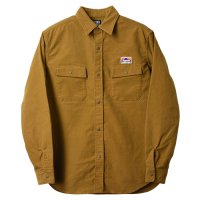 <img class='new_mark_img1' src='https://img.shop-pro.jp/img/new/icons14.gif' style='border:none;display:inline;margin:0px;padding:0px;width:auto;' />【STANDARD CALIFORNIA】SD STRETCH MOLESKIN CLASSIC FIELD SHIRT BEIGE シャツ スタンダードカリフォルニア